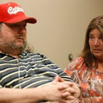 Steve Ireland, Micheal Ireland's father, and Pennie Ireland, his step-mom, talk about Micheal on Thursday, May 21, 2015.