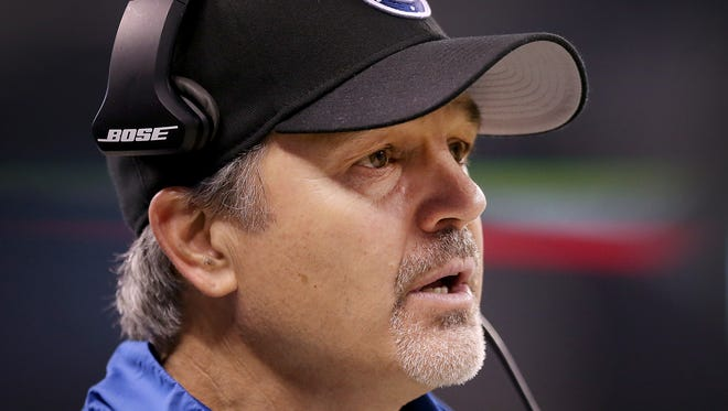 Indianapolis Colts head coach Chuck Pagano.