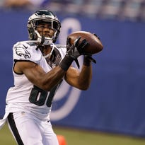 Wide receiver Paul Turner, an undrafted free agent, is fighting for a spot on the Eagles' roster.