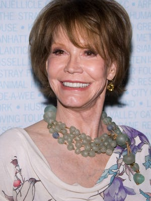 Mary Tyler Moore, seen here in 2009,  has died in a Connecticut hospital.