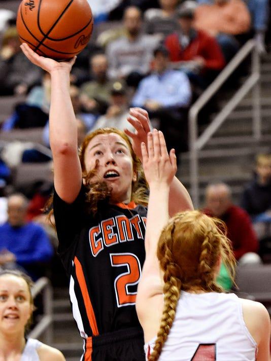 Central York vs Cumberland Valley D-3, Class 6-A girls basketball Semifinal