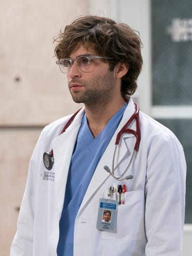 """Grey's Anatomy"" actor Jake Borelli followed his character,"