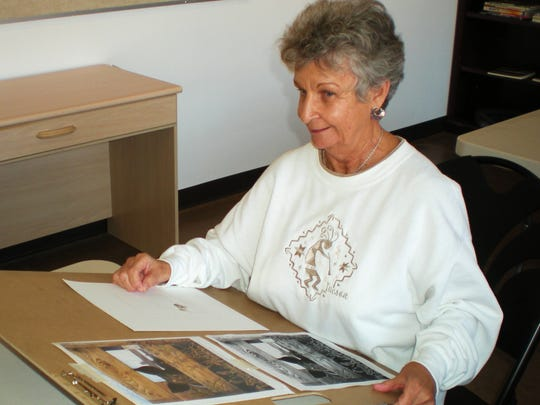 Joan Rimbert has been a longtime student of Bunny  Wiseman, progressing from beginner to accomplished artist.