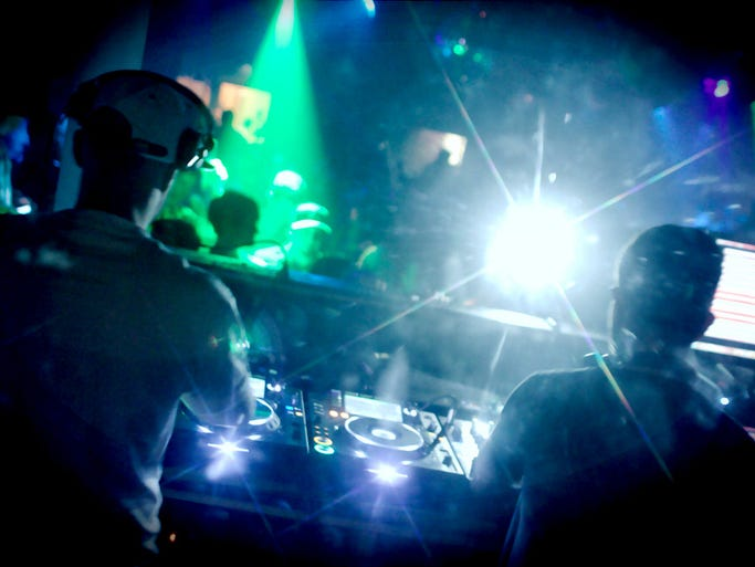DJ duo Jack Beats played at Smashboxx Nightclub in Scottsdale on Friday, May 2, 2014.