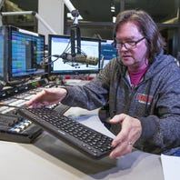Classic rock station KSLX in Phoenix drags out a turntable to play vinyl LPs, clicks, pops and all
