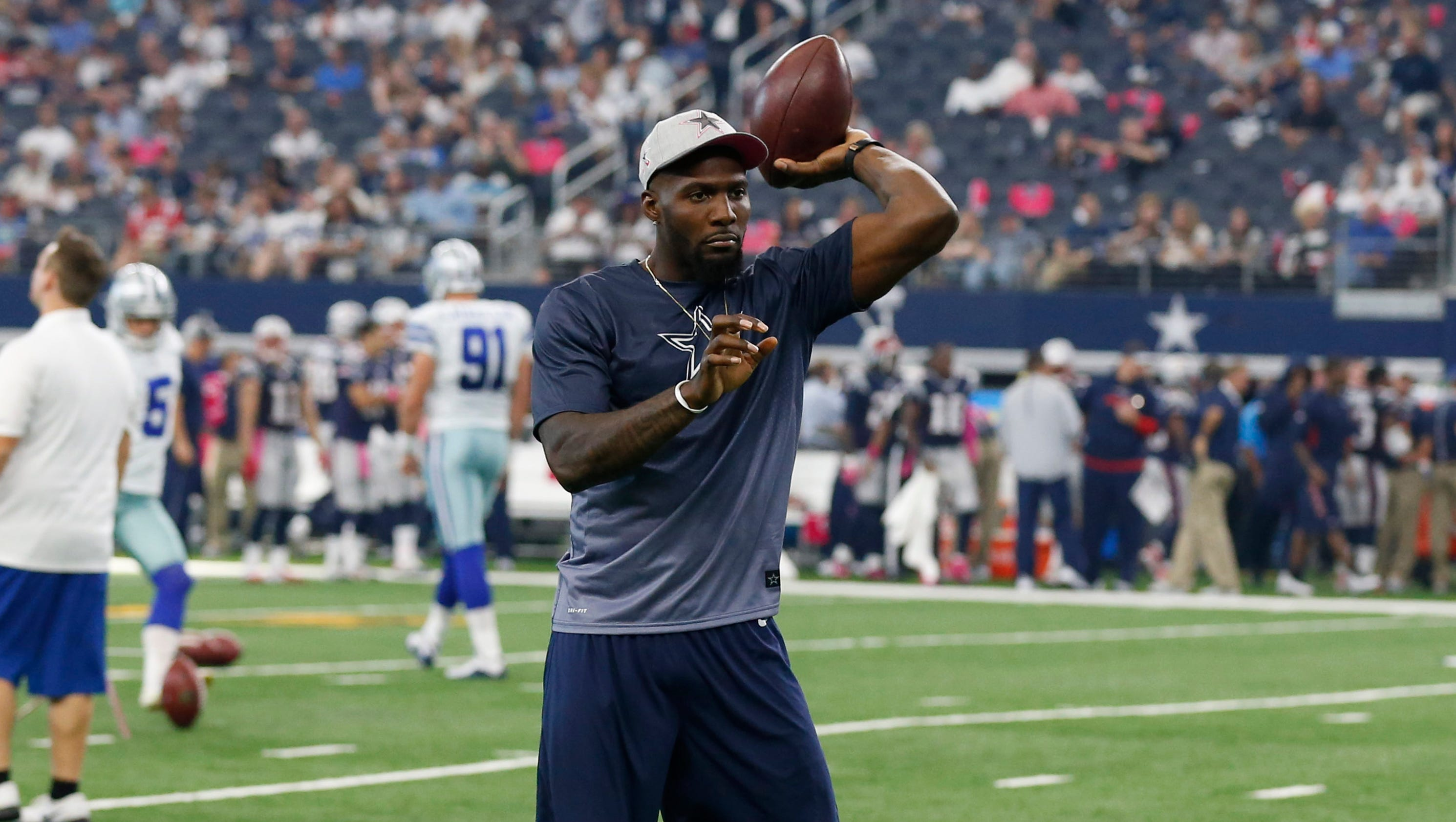 Cowboys' Dez Bryant practices for first time since ...