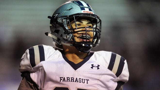 Farragut's Jacob Warren has committed to Tennessee.