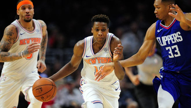 Frank Ntilikina's rookie season is about to end. He's made plenty of strides throughout the year.