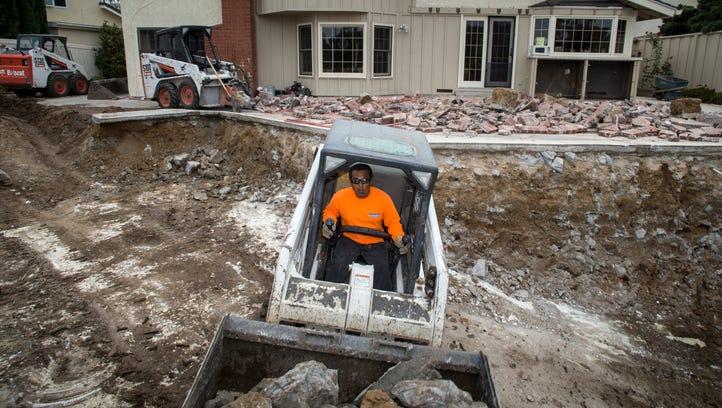 Californians digging deep to slash water usage during drought