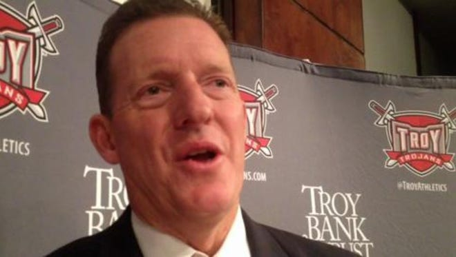 John Hartwell became Troy's athletic director in September 2012.