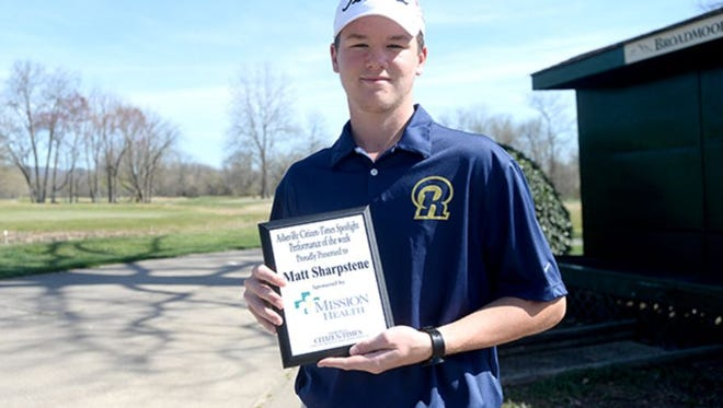 Roberson junior Matt Sharpstene.