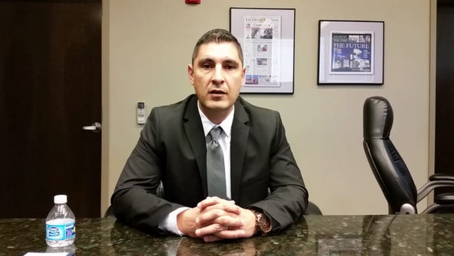 Roman Jimenez of Las Cruces is chairman of the Doña Ana County Republican Party.