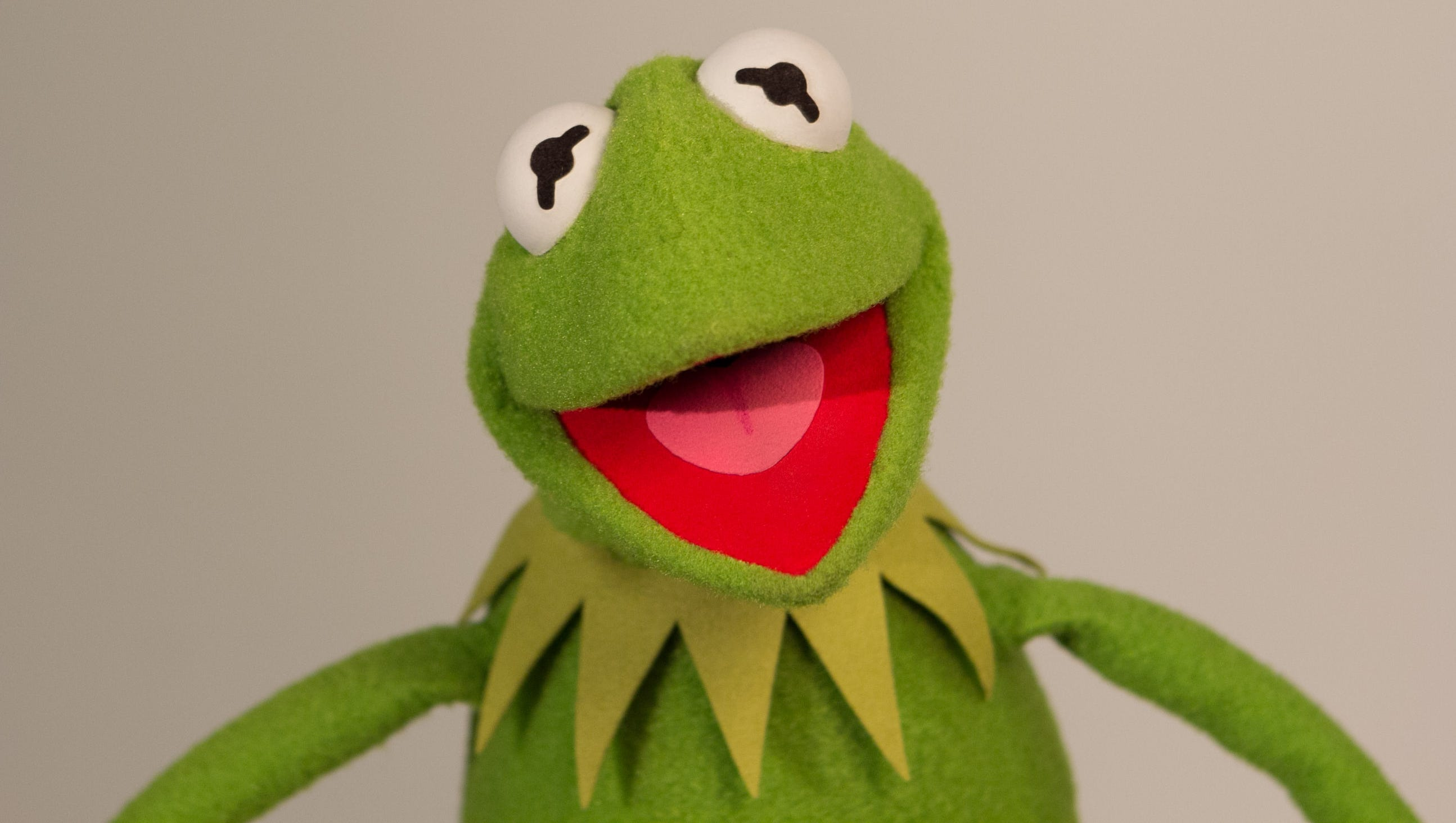 Kermit the Frog's new voice sounds a lot like old Kermit