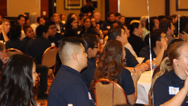 Students in Palm Springs Unified School District's career academies attend a 2016 workshop focused on college- and career-preparation. This year's workshop is scheduled for Nov. 7.