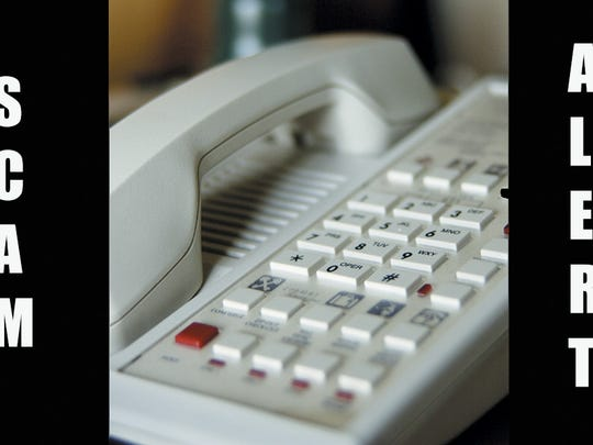 Local residents are being targeted in a new phone scam.