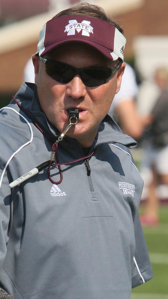 Coach Dan Mullen and Mississippi State get Alabama