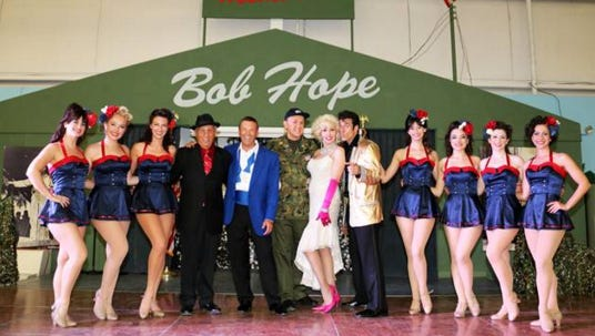 A one-performance-only matinee show of 'Thanks for the Memories: A Bob Hope Holiday Tribute to the Troops,' will run Dec. 5 at the Palm Springs Air Museum.