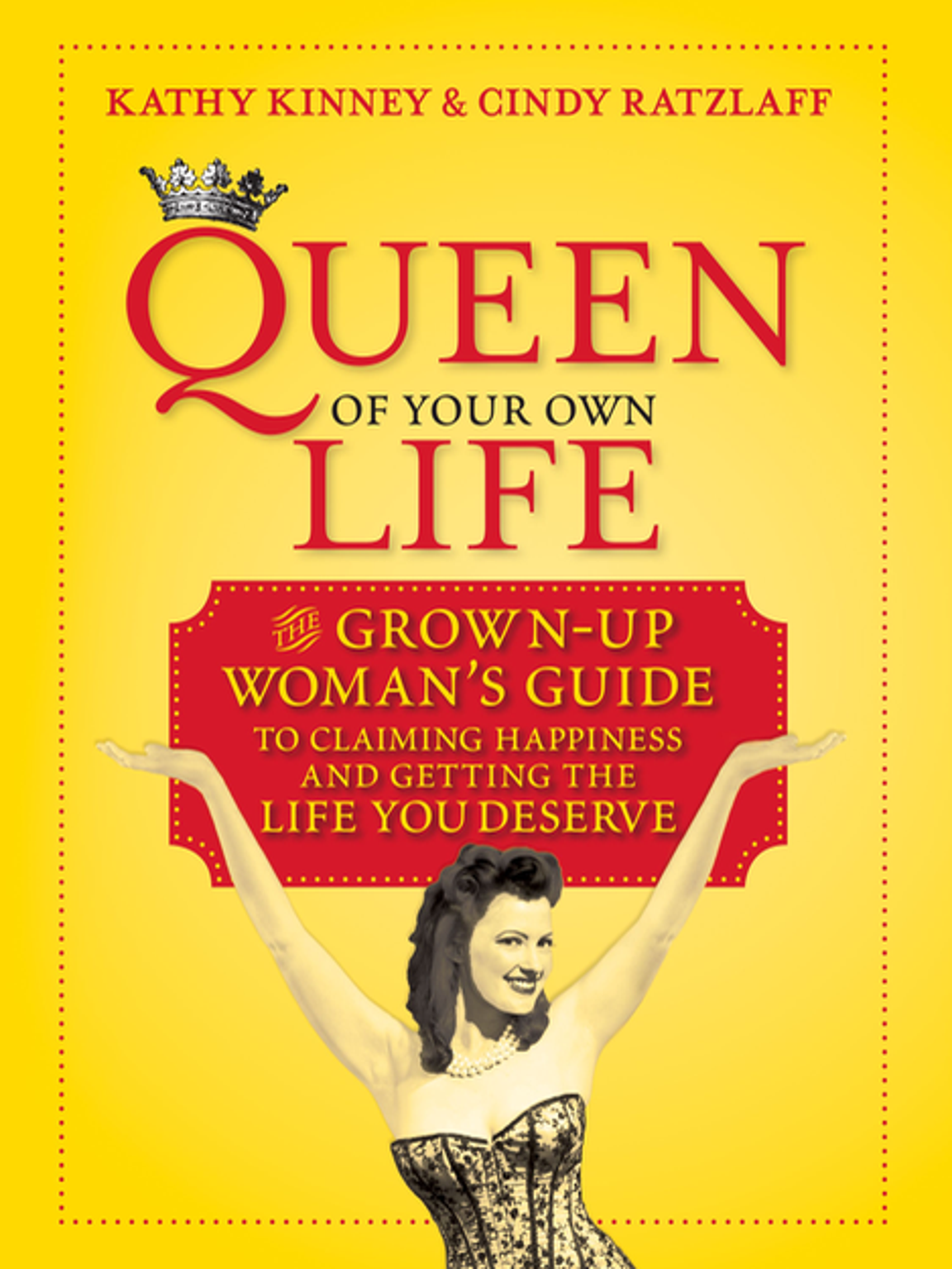 "Kinney co-authored ""Queen of Your Own Life"" to help"
