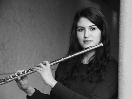 Salem Pops Orchestra's May 21 concert will feature three of the finalists from the Pops' 2017 Del Milne Memorial Scholarship competition, flutist Marah Christenson (pictured), baritone Anthony Beyer and flutist Hayley Guptill at 3 p.m. at Chemeketa Community College Auditorium in Building 6. $15, $5 for students and $2 for ages 6 and younger.
