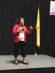 Yoli Silva, coordinator of a program to help homeless