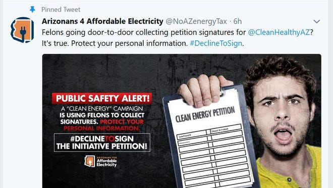 An APS-funded PAC is doing everything it can to prevent the Clean Energy for a Healthy Arizona initiative from making the November ballot.