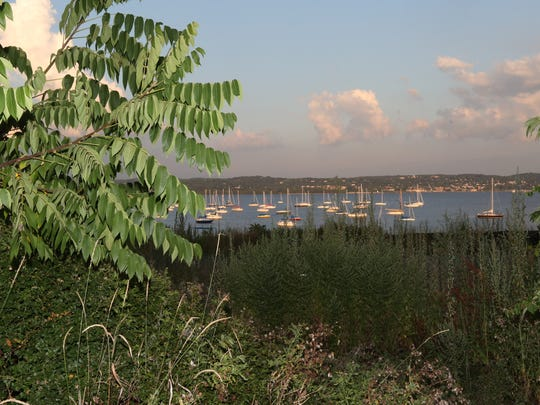 The site for the proposed TZ Vista condominiums, next to the Nyack Boat Club on Gedney St. in Nyack Aug. 25, 2015.