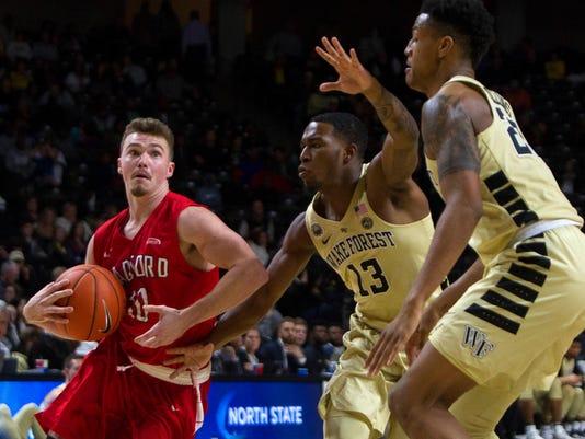 NCAA Basketball: Radford at Wake Forest