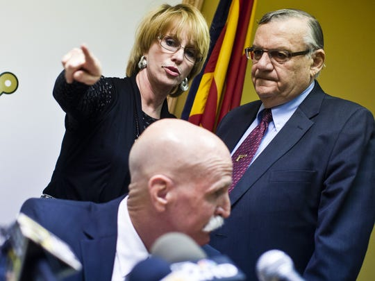 Lisa Allen, Arpaio's public information officer, was the only aide in the room who expressed second thoughts about Arpaio's seeking a seventh term when the sheriff asked for their takes.