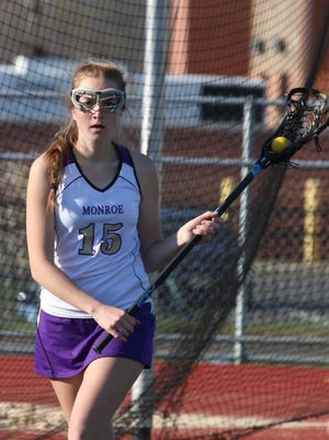 Kara Turco became the all-time points leader at Monroe on Thursday.