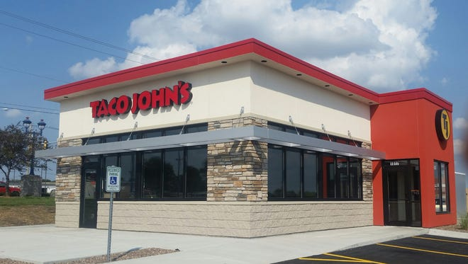 A Taco John's location in Clinton, Iowa