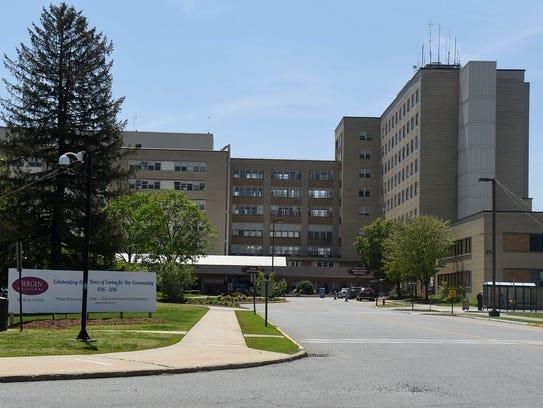 Exterior photos of Bergen Regional Medical Center.