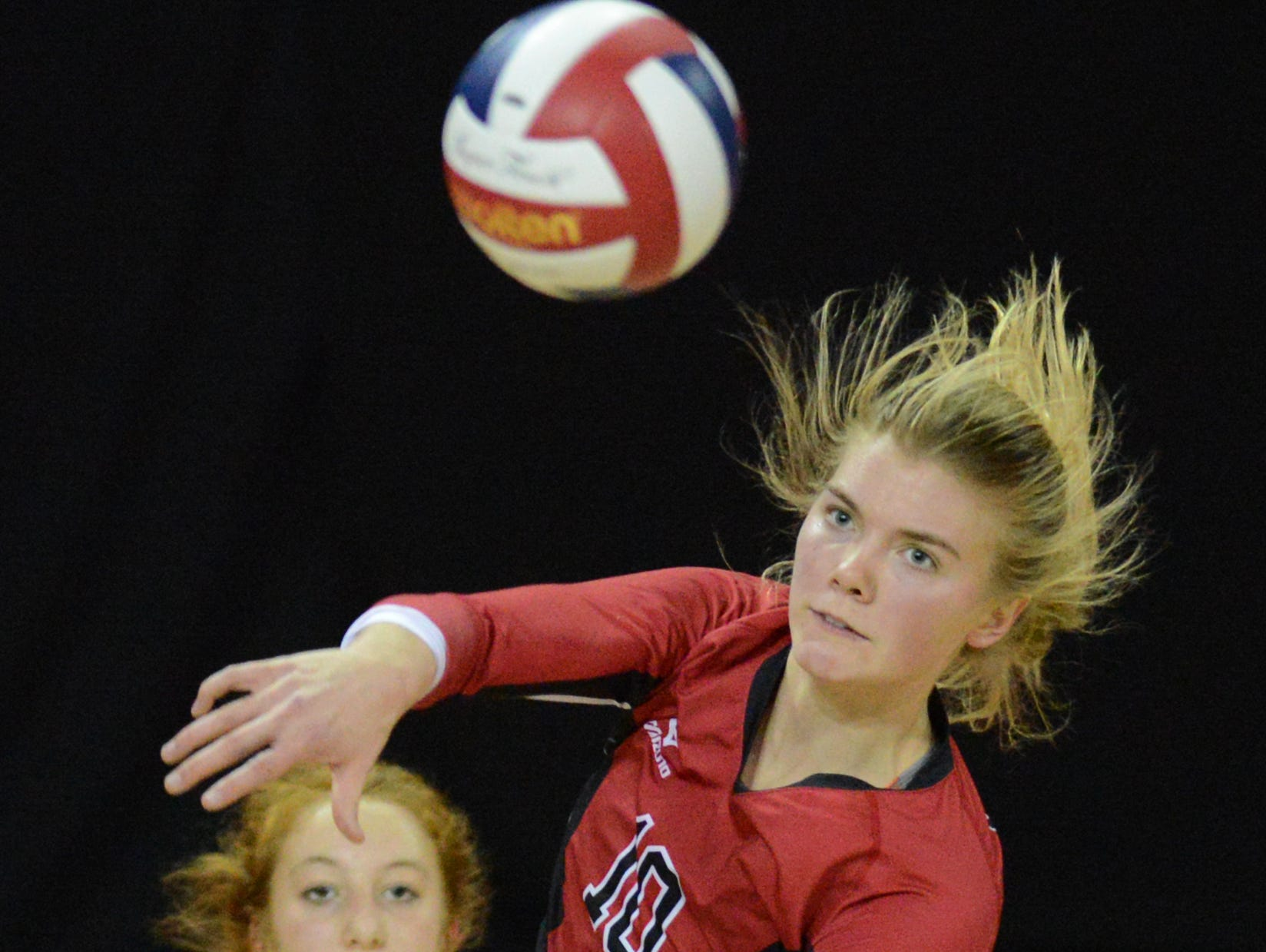Mariah Whalen is a reason why Newman Catholic is two wins away from another trip to the WIAA state girls volleyball tournament