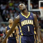 Lance Stephenson and the Pacers continue to have trouble winning games in Atlanta.