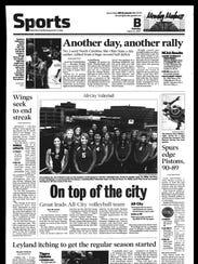 Battle Creek Sports History - Week of March 23, 2007