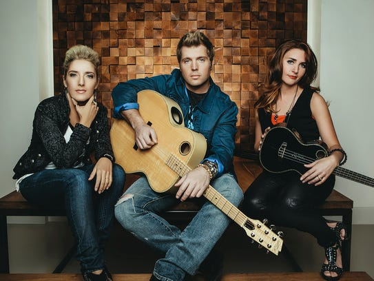 The Nashville-based country trio Neon Summer