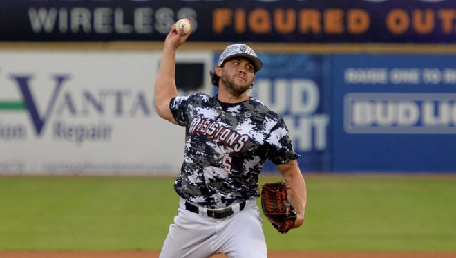 Chris Huffman went 6.1 innings Wednesday night to get the win in El Paso's win over Reno in the Pacific Coast League playoffs.