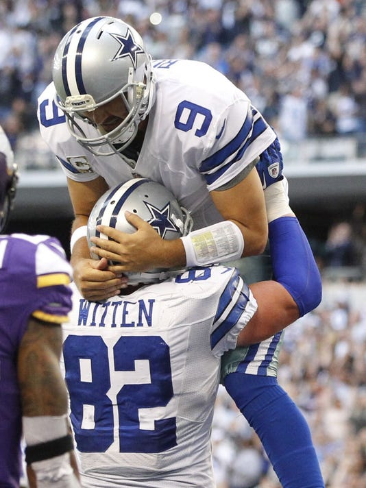 f3e935ca8 Tony Romo writes glowing tribute to ex-Cowboy Jason Witten
