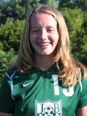 Reilly Heinbaugh, James Buchanan girls soccer