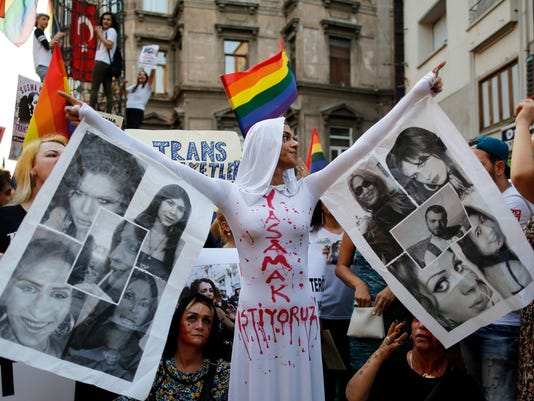 EPA TURKEY PROTEST POL CITIZENS INITIATIVE & RECALL TUR