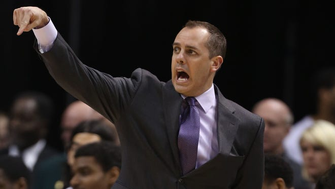 Indiana Pacers coach Frank Vogel is coaching the Eastern Conference All Stars.