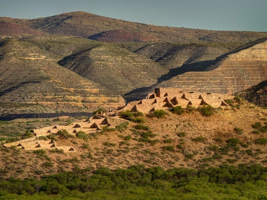 Tuzigoot National Monument, perched above the Verde