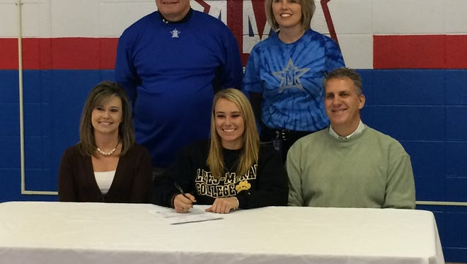 McDowell senior Karly McRary has signed to play college softball for Lees-McRae.