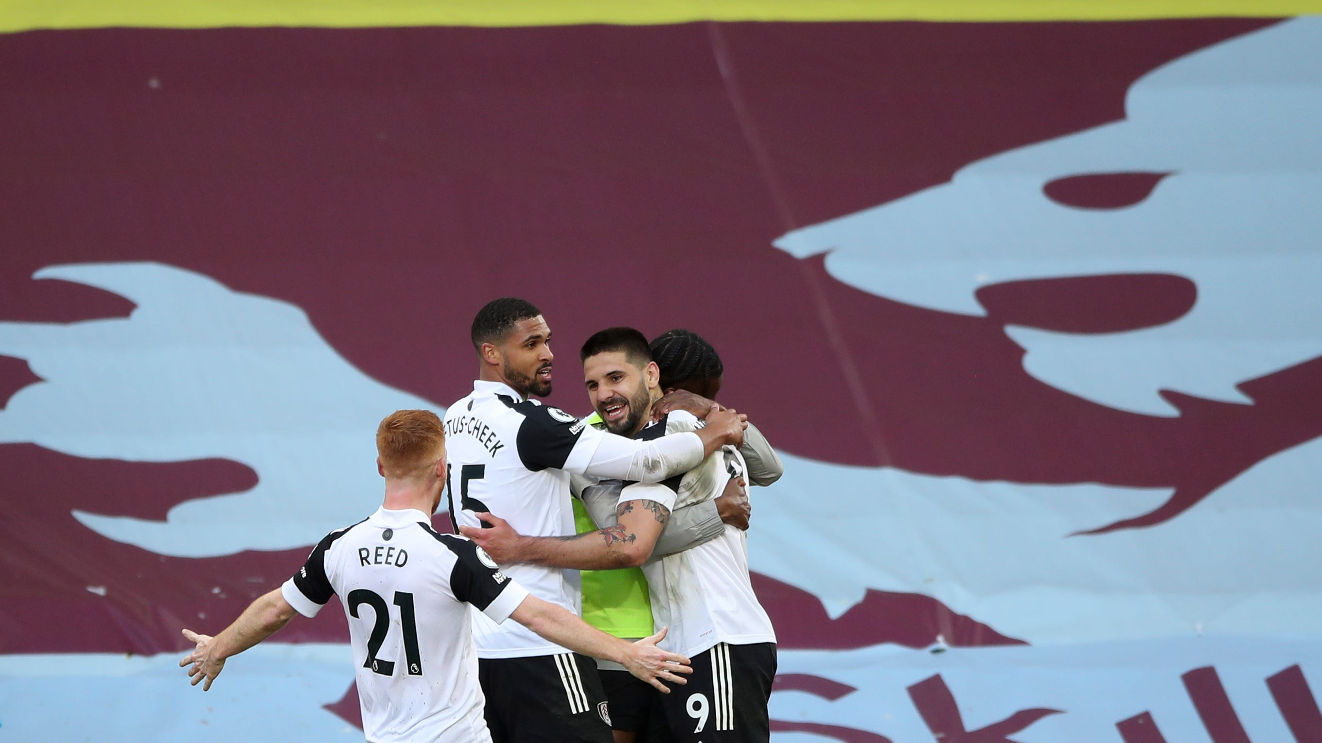 Fulham stays in EPL's bottom 3 after 3-1 loss at Aston Villa