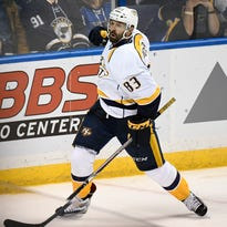 Rexrode's Predators Playoff Barometer: Human goalies, rocking Fiddler