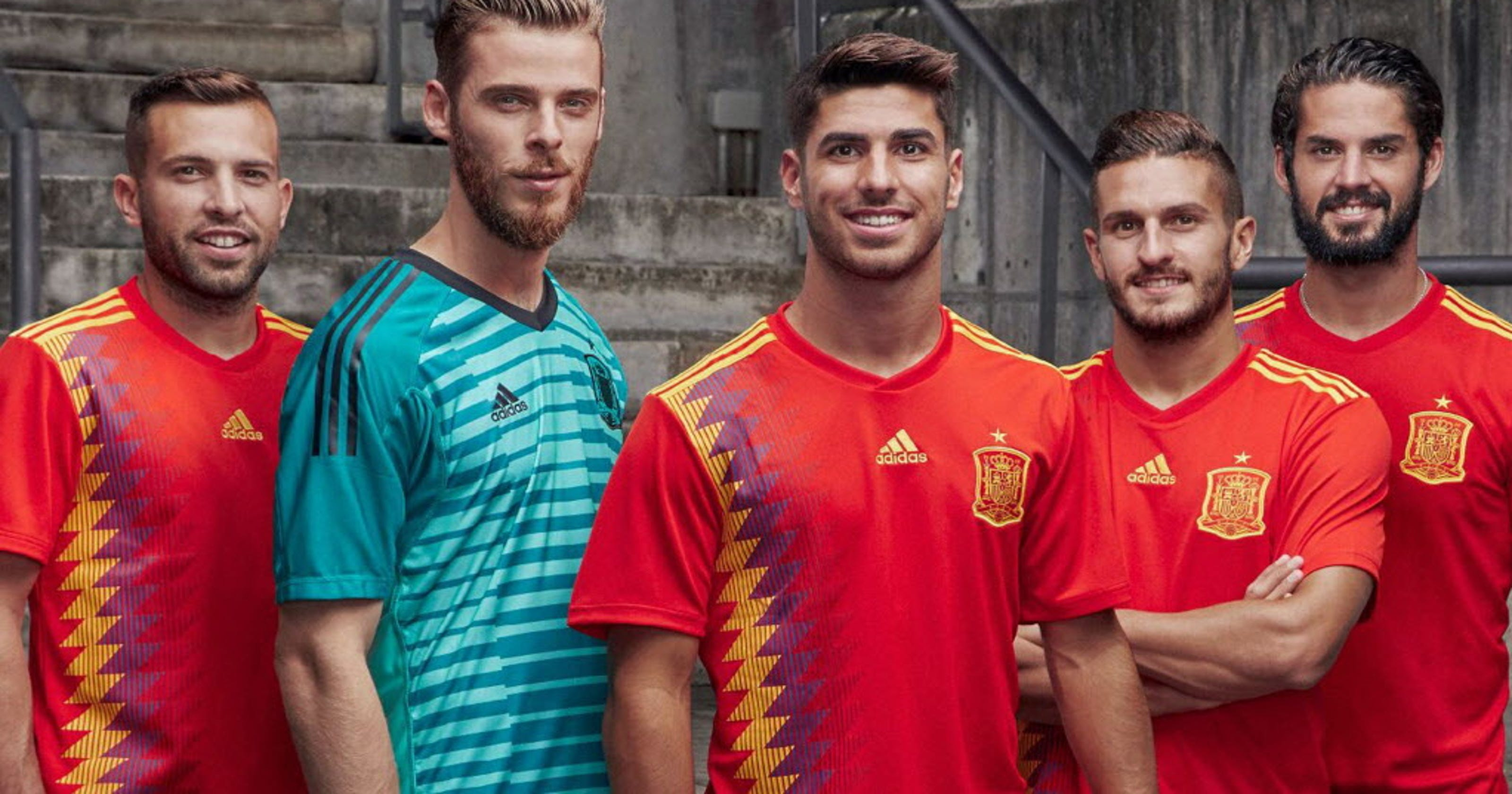 sale retailer f6d13 83286 Spain's 2018 World Cup jersey sparks controversy