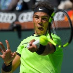 3-time champion Rafael Nadal beats Fernando Verdasco at Indian Wells