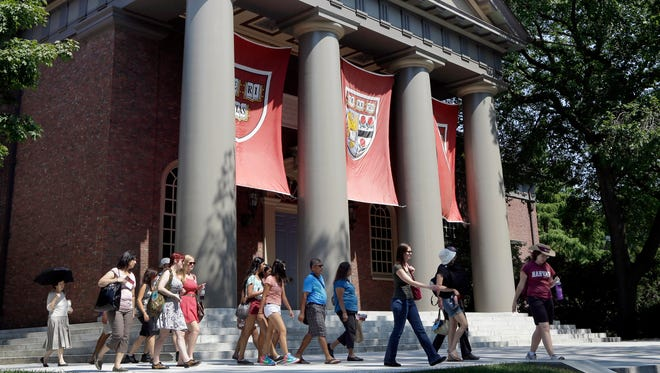 An alliance of Asian-American groups on Friday filed a federal complaint against Harvard University, saying that school and other Ivy League institutions are using racial quotas to admit students other than high-scoring Asians.