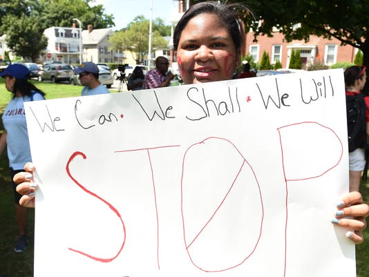 Tertiary-Stop the Violence March