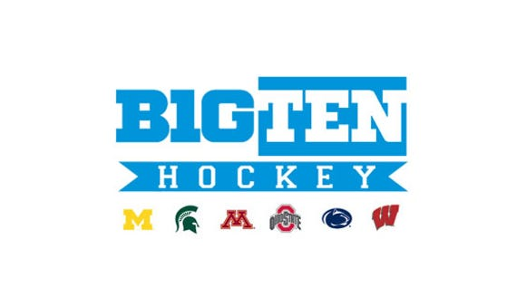 Big Ten hockey logo