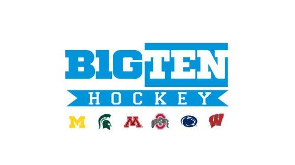 Big Ten Conference hockey logo